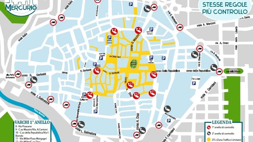 Ztl Firenze Cartina.Si Parte Con Le Telecamere Per Ora Niente Multe Drei Il