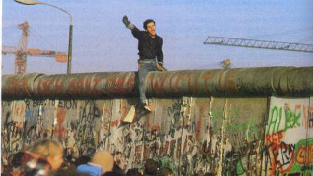 Pianta Muro Berlino : In sala randi per ricordare la caduta del muro