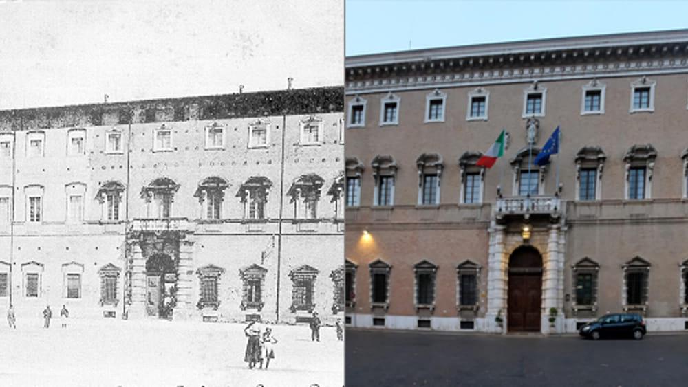 Forl Ieri E Oggi Quando Bazzani Rianim Palazzo Piazza